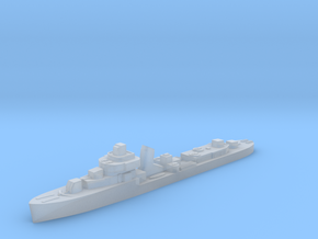 Brazilian Apa destroyer 1:3000 post WW2 in Smoothest Fine Detail Plastic