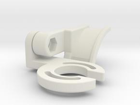 SF2 NERD Holder v1 in White Natural Versatile Plastic