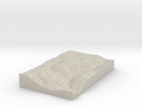 Model of Dung Gate in Natural Sandstone