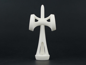 Satellite kendama (ken only) in White Natural Versatile Plastic