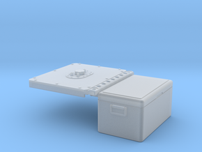 Fuel Cell + Cooler Rear Cover for Micro Shark in Smooth Fine Detail Plastic