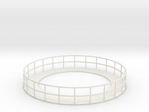 Walkway 5 - HOscale in White Natural Versatile Plastic
