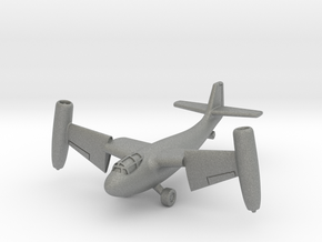 (1:144 whatif) Weserflug P.1003 Jet (Vertical mode in Gray PA12