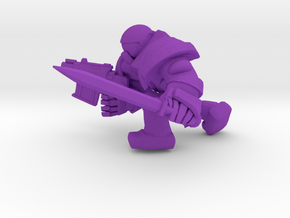 SPACE MARINER BOLTPISTandSWORD in Purple Processed Versatile Plastic