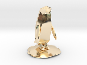 Penguin in 14K Yellow Gold