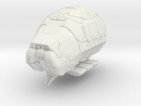 Fuelpod (1/370) in White Natural Versatile Plastic