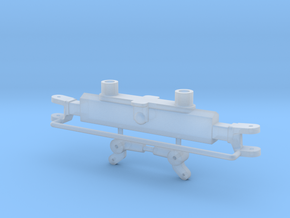 S Series Steerable Rear End in Smooth Fine Detail Plastic