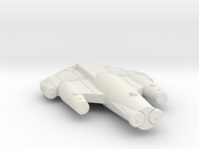 3125 Scale ISC Scout (SC) SRZ in White Natural Versatile Plastic