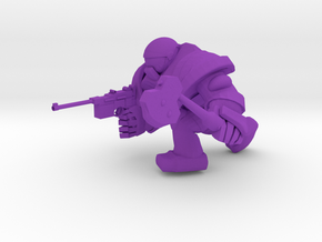 SPACEMARINER MAUSER AND AXE in Purple Processed Versatile Plastic
