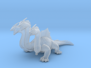 Hydra DnD miniature games rpg dragon monster in Smooth Fine Detail Plastic