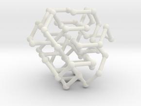 FCC knot no. 2 in White Natural Versatile Plastic