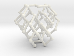 FCC knot no. 3 in White Natural Versatile Plastic