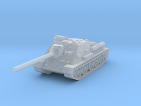 SU-100 tank 1/160 in Smooth Fine Detail Plastic