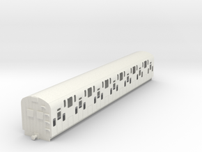 0-32-bulleid-dd-emu-trailer-coach in White Natural Versatile Plastic