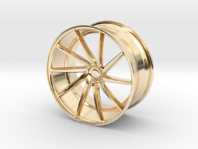 Mini Vossen CVT 45mm in 14K Yellow Gold