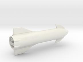 Starship MK1 in 1:500  in White Natural Versatile Plastic