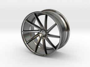 Mini Vossen CVT 45mm in Polished Silver