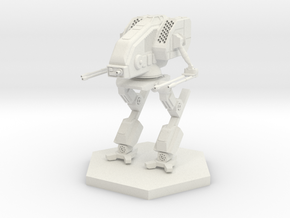 24mm Clan Mad Dog B in White Natural Versatile Plastic