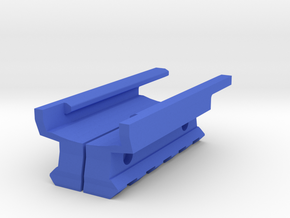 Bottom Picatinny Rail (5 Slots) for USP in Blue Processed Versatile Plastic