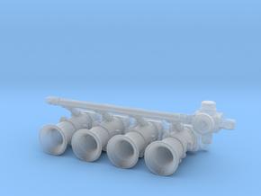 Engine Throttle - Type 1 - 1/24 in Smoothest Fine Detail Plastic