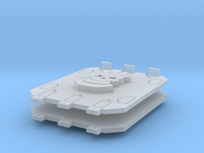 Commission 106 Jericho tank doors in Smooth Fine Detail Plastic