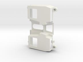 JaBird RC G6 3D Floorpan - V1 in White Natural Versatile Plastic