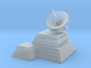 Wargames radar base in Smooth Fine Detail Plastic