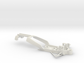 Eagle chassis Scalextric in White Natural Versatile Plastic