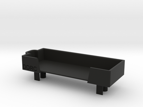Front LiPo Battery Mount for CFXW / CFX / CMX in Black Natural Versatile Plastic