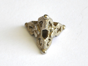 D4 Balanced - Bees in Polished Bronzed-Silver Steel