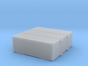 Post Wechselbehälter [x3] in Smooth Fine Detail Plastic: 1:150