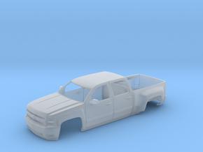 Chevy Silverado 2010 Cabin in Smooth Fine Detail Plastic