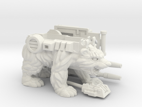 Chainclaw PotP Shell, No Helmet in White Natural Versatile Plastic: Large
