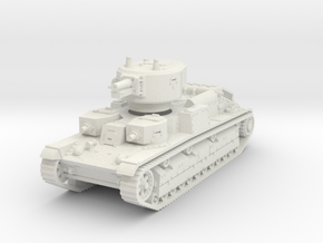 T-28 early 1/76 in White Natural Versatile Plastic