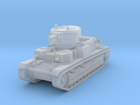 T-28 early 1/220 in Smooth Fine Detail Plastic