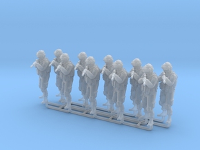 Soldier 8 1:64 scale (10 pack) in Smooth Fine Detail Plastic