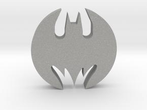 Batmobile Hubcap 1:1 Scale in Aluminum