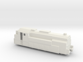 PANZERZUG 93 1/160  in White Natural Versatile Plastic