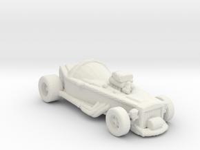 Carfin 4 2 160 scale in White Natural Versatile Plastic