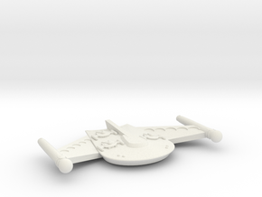 3125 Scale Romulan ChickenHawk Gunboat/PF Tender in White Natural Versatile Plastic