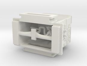 1/87 FDNY(ish) Seagrave SQUAD pump in White Natural Versatile Plastic