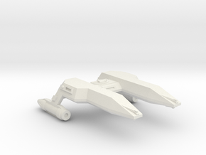 3788 Scale Lyran Local Defense Frigate (LFF) CVN in White Natural Versatile Plastic