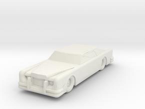 The CAR 160 Scale in White Natural Versatile Plastic
