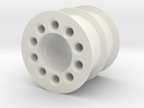BIELOMATIK Cartoner Index Chain IDLER in White Natural Versatile Plastic