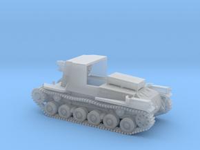 1/144 IJA Type 4 Ho-Ro Self Propelled Gun in Smooth Fine Detail Plastic