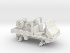 1-64 Scale Hafaflinger 4x4 in White Natural Versatile Plastic