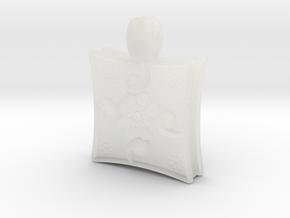 Arabesque in Smooth Fine Detail Plastic