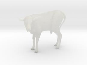 Ankole-Watusi 1:12 Calf in Smooth Fine Detail Plastic