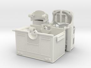1/87 Terrastar 4 Door Medium Duty Rescue in White Natural Versatile Plastic