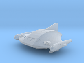 Romulan Shuttle in Smooth Fine Detail Plastic